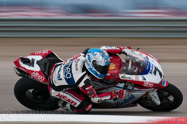 Photo of the Week: A Bull on the Loose photo of the week Carlos Checa WSBK Miller Motorsports Park Scott Jones