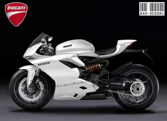 2012 Ducati Superbike 1199 Rendered by Luca Bar Design 2012 Ducati Superbike 1199 Luca Bar Design 2 635x461