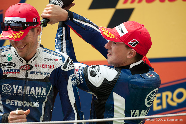 MotoGP: Ben Spies Renews Contract with Yamaha Ben Spies Jorge Lorenzo Scott Jones