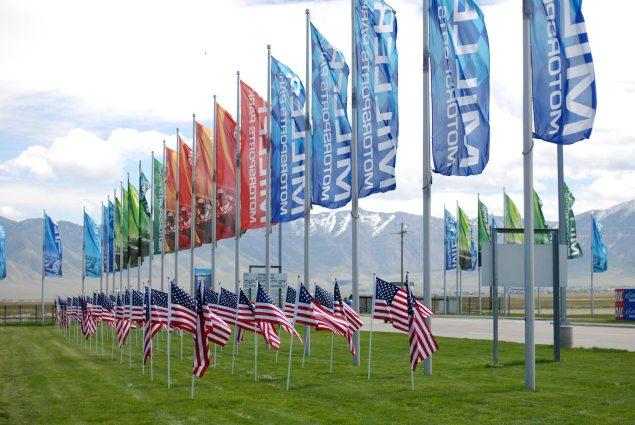 Miller Motorsports Park by Jensen Beeler Miller Motorsports Park flags 635x425