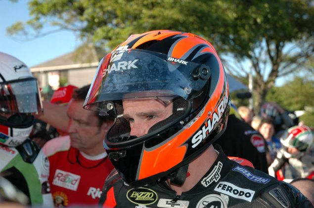 IOMTT: Ryan Farquhar Out After Crash During Practice Ryan Farquhar Isle of Man TT 635x422