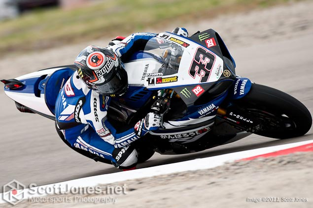 Photo of the Week: Rolling Momentum Marco Melandri WSBK Miller Motorsports Park Scott Jones