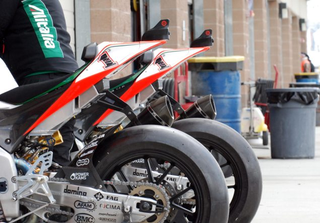 World Superbike Going to Single Bike per Rider Format? Max Biaggi World Superbike Aprilia MMP 635x443