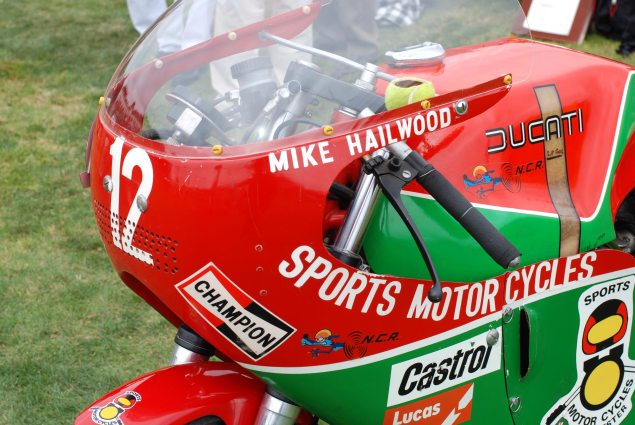 Pebble Beach Concours dElegance: 1978 Ducati 900 NCR Mike Hailwood Race Bike 1978 Ducati 900 NCR Mike Hailwood Pebble Beach 9 635x425