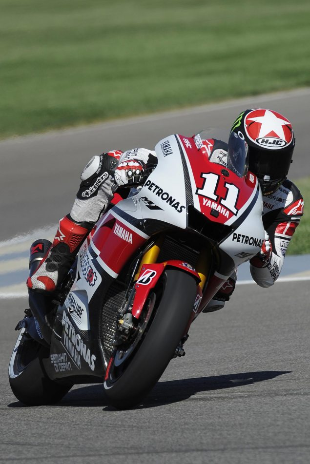 First Impressions of New Indy Asphalt Leaves MotoGP Riders Unimpressed Ben Spies Indianapolis GP FP1 635x952