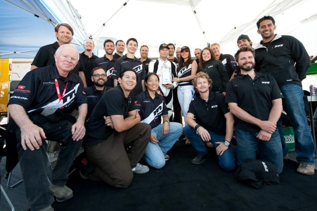 Funded: Mission Motors Closes $9 Million Series B Financing Round Lead by Warburg Pincus Mission Motors team Laguna Seca 635x422