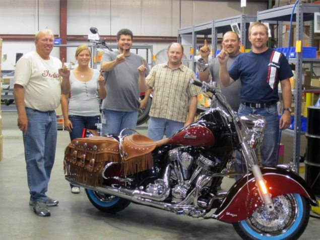 Indian Produces First Motorcycle Under Polaris Ownership Polaris Indian Chief 1 635x476