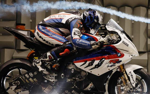 Is Your Motorcycle Helmet Making You Deaf? bmw s1000rr wind tunnel