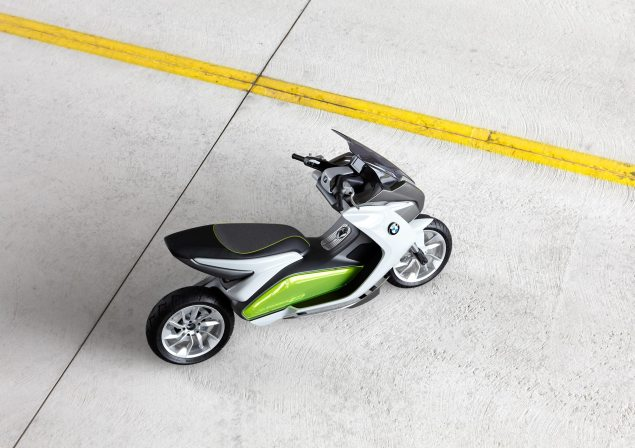 BMW Concept e Maxi Scooter   Electric Urban Mobility BMW Concept e 26 635x448