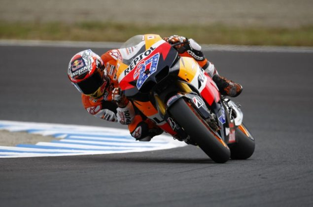 MotoGP: Lap Record Falls in the Land of the Rising Sun During Qualifying Casey Stoner Motegi Japanese GP Repsol Honda MotoGP 635x421