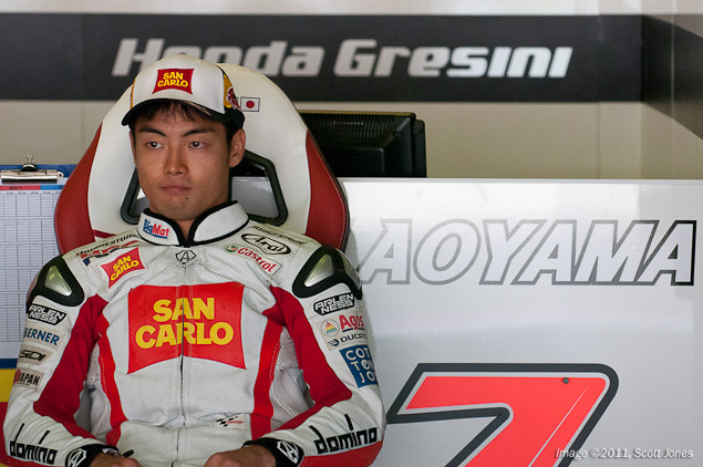 Hiroshi Aoyama to World Superbike with Castrol Honda Hiroshi Aoyama MotoGP Gresini Honda Scott Jones