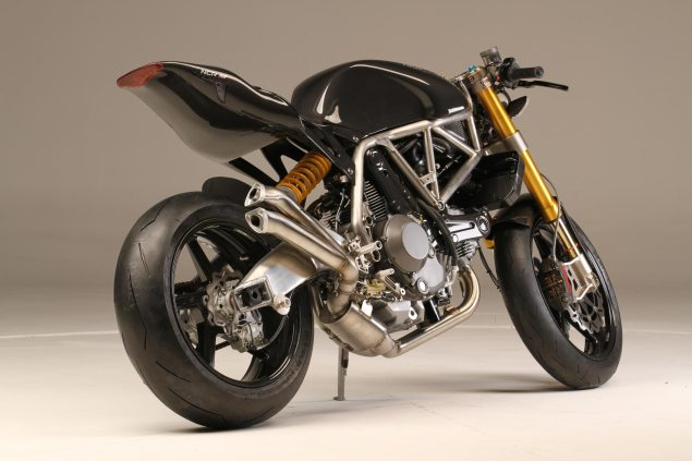 NCR M4 ONE SHOT   Ducati Monster Lovers, Your Christmas Has Been Ruined NCR M4 Carbon Right Rear 1 635x423