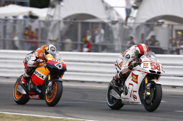 Andrea Dovizioso: Marco Was My Biggest Rival Ever Marco Simoncelli Andrea Dovizioso rivalry 16 635x421