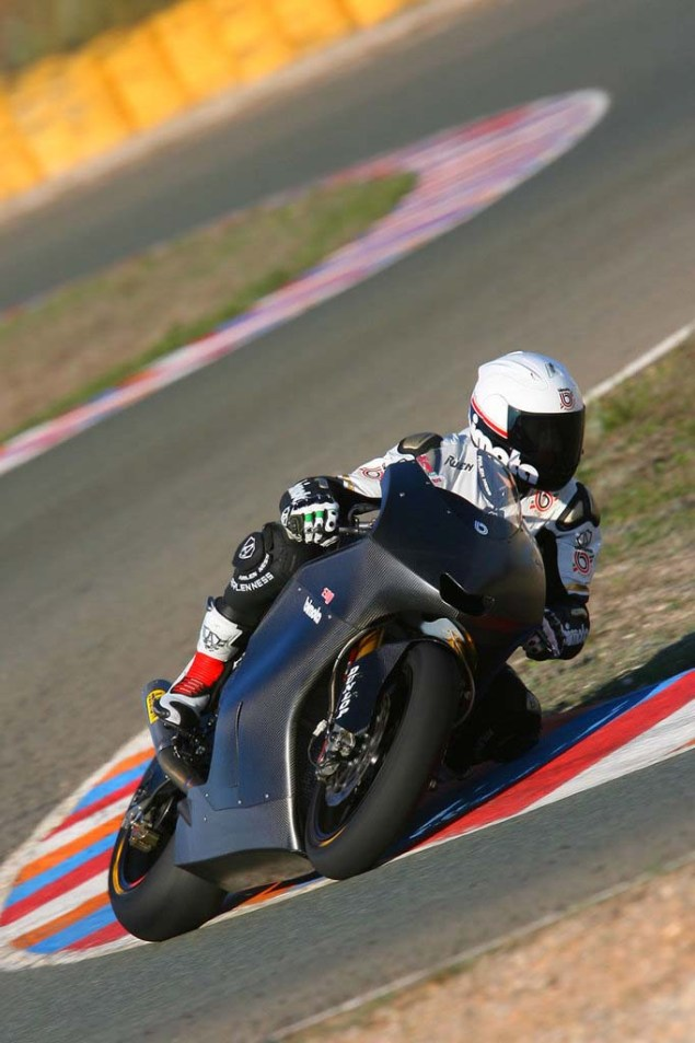 Bimota to Wild Card in a World Superbike Race? Bimota HB4 DB8 Ruben Xaus test 03 635x953