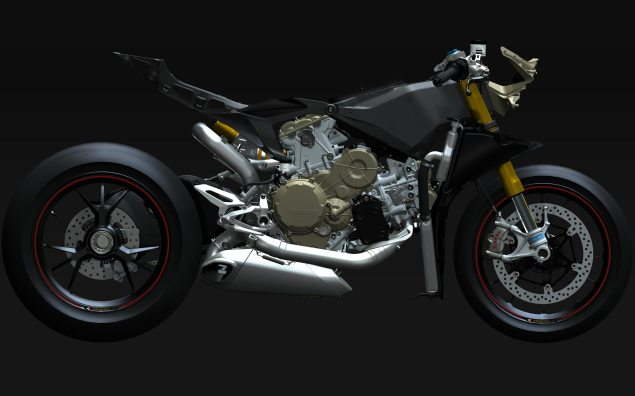 XXX: Ducati 1199 Panigale Naked Ducati 1199 Panigale frame CAD 02 635x396