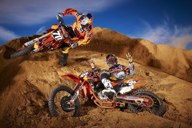 You Can Always Count on KTM for Some Good Photos Red Bull KTM Supercross Musquin Roczen 01 635x423