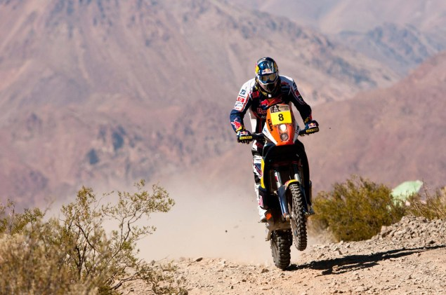 Cyril Despres Wins Fourth Dakar Rally Title Cyril Despres KTM Dakar Rally 2012 16 635x421