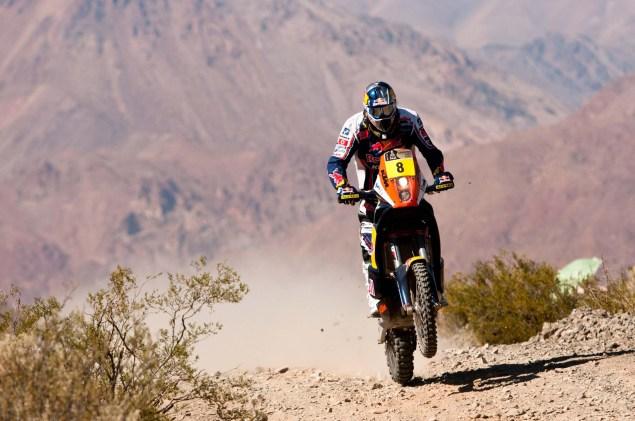 Cyril Despres Wins Fourth Dakar Rally Title Cyril Despres KTM Dakar Rally 2012 16 635x421