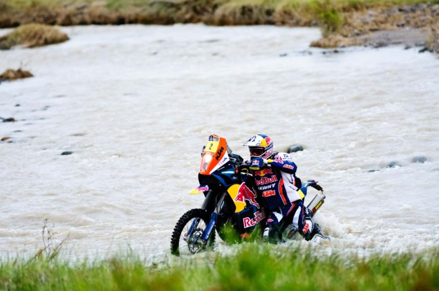 Cyril Despres Wins Fourth Dakar Rally Title Cyril Despres KTM Dakar Rally 2012 35 635x421