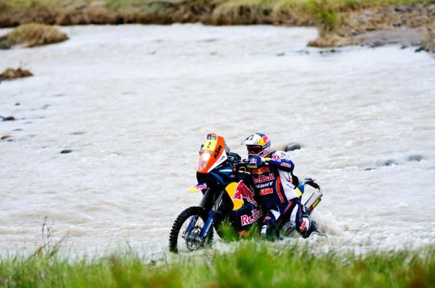 Cyril Despres Wins Fourth Dakar Rally Title Cyril Despres KTM Dakar Rally 2012 35 635x421