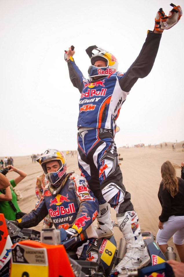 Cyril Despres Wins Fourth Dakar Rally Title Cyril Despres KTM Dakar Rally 2012 42 635x954
