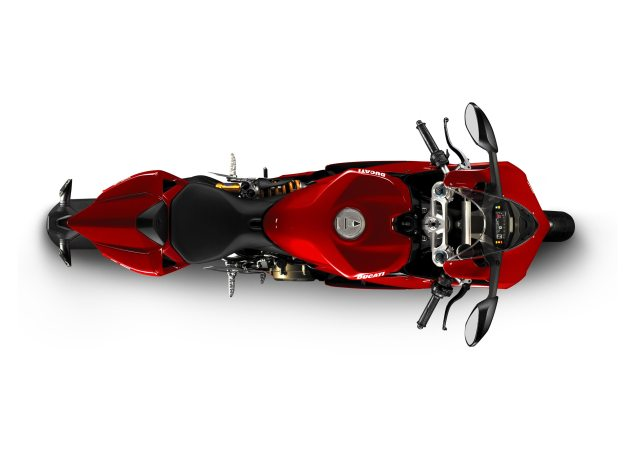 Rumor: Ducati 799 Supersport for 2013? Ducati 1199 Panigale aerial 635x449