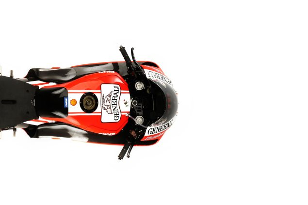 Ducati Corse Testing the 90% New GP12 This Week in Jerez Ducati Desmosedici GP11 aerial 635x423