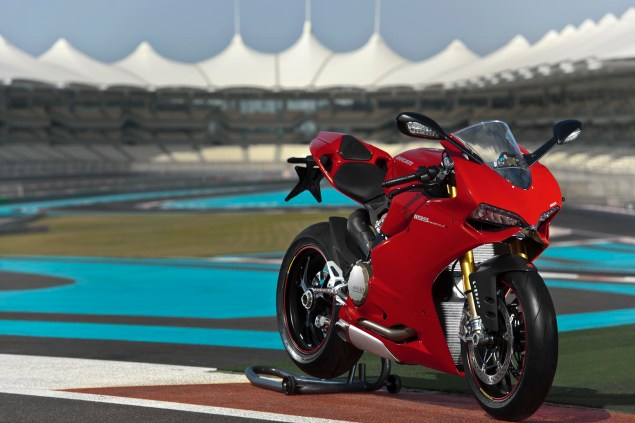Call Your Mother Because Here is the Ultimate Ducati 1199 Panigale Photo Gallery Ducati 1199 Panigale Yas Marina Circuit 01 635x423