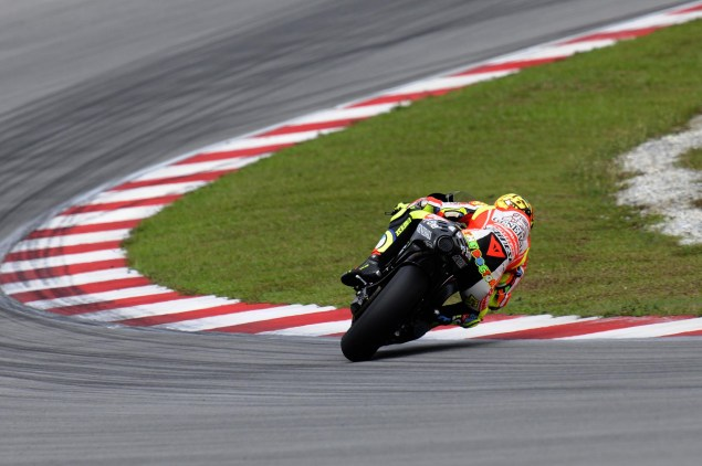 MotoGP: Test Results & Photos from Day 2 at Sepang Ducati Corse Sepang Day 2 Valentino Rossi 01 635x422