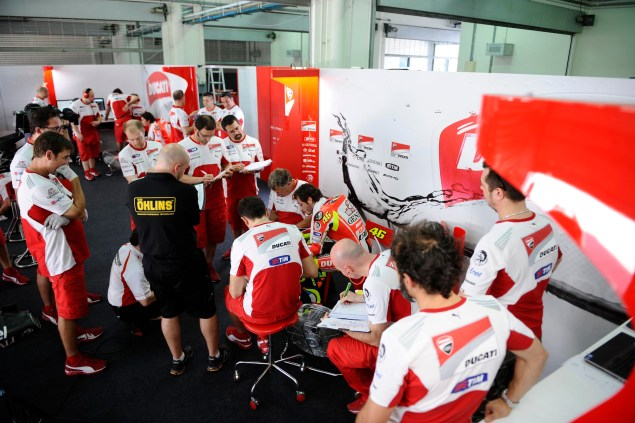 MotoGP: Test Results & Photos from Day 1 at Sepang II Ducati Corse Sepang Test 2 MotoGP 081 635x423
