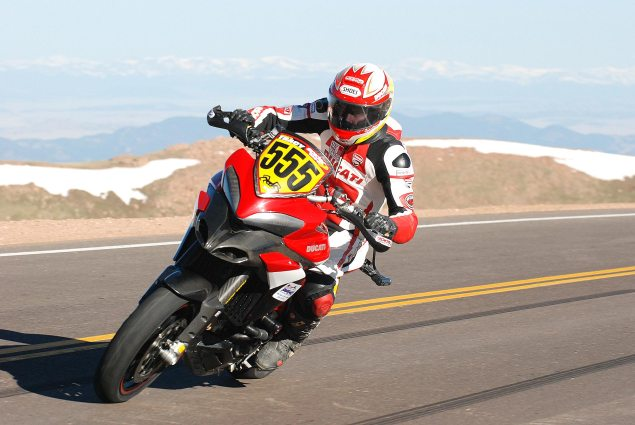 Ducati Announces Pikes Peak International Hill Climb Team with Carlin Dunne & Greg Tracy Ducati Pikes Peak Greg Tracy 2 635x425