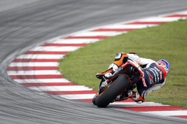 MotoGP: Test Results & Photos from Day 2 at Sepang HRC Sepang Test Day 2 Casey Stoner 3 635x421
