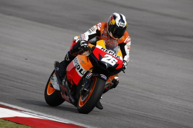 MotoGP: Test Results & Photos from Day 2 at Sepang HRC Sepang Test Day 2 Dani Pedrosa 1 635x421