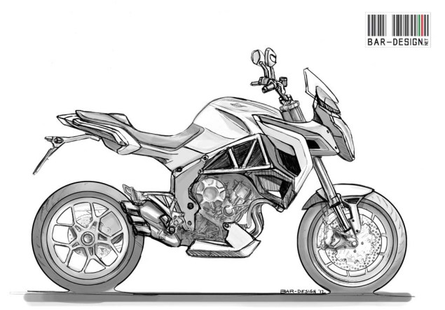 MV Agusta Rivale by Luca Bar Design MV Agusta Rivale Luca Bar Design 02 635x442
