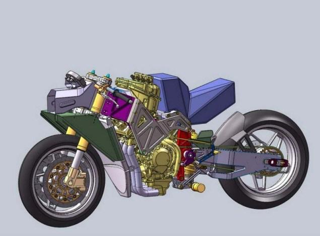 Rondine Moto2 Race Bike Rondine Moto2 renders 03 635x469