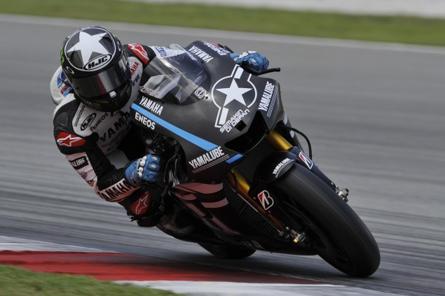 MotoGP: Test Results & Photos from Day 2 at Sepang II Yamaha Racing Day Two Sepang II MotoGP 05 635x423