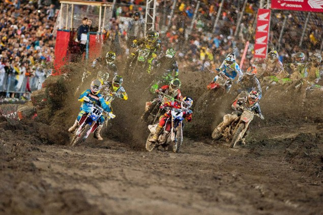 Photos: The Mud of SX at Daytona AMA Supercross SX Daytona mud Yamaha 02 635x423