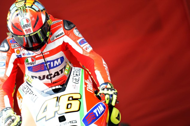 MotoGP: Testing at Jerez Provides Few Surprises Ducati Corse Jerez MotoGP test 2012 22 635x422