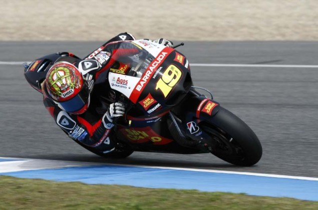 MotoGP: Testing at Jerez Provides Few Surprises HRC Jerez MotoGP test 2012 03 635x421