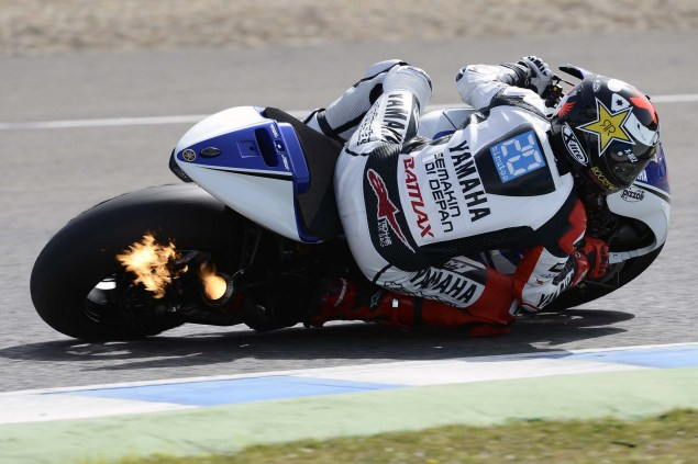 MotoGP: Testing at Jerez Provides Few Surprises Yamaha Racing Jerez MotoGP test 2012 26 635x423