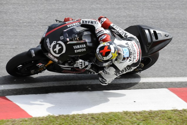 MotoGP: Test Results & Photos from Day 3 at Sepang II Yamaha Racing Sepang Test MotoGP 02 635x423