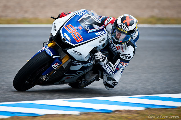 MotoGP: Mixed Weather for Qualifying at Jerez 2012 Spanish GP Jerez Friday Scott Jones 41