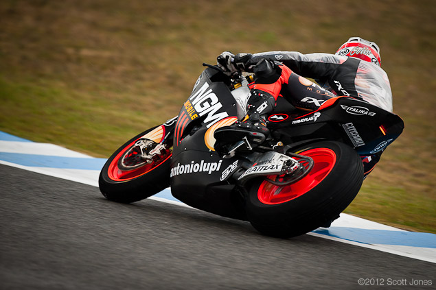 Saturday at Jerez with Scott Jones 2012 Spanish GP Jerez Saturday Scott Jones 4