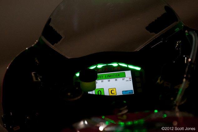 Ducati Corses OLED Dash Ducati Corse Desmosedici GP12 OLED dash 4