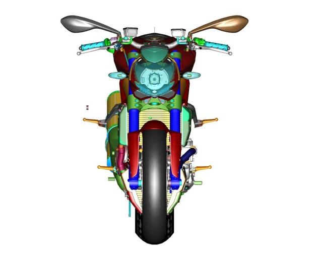 CAD Drawings of the Ducati Streetfighter 848 Ducati Streetfighter 848 CAD 18 635x506
