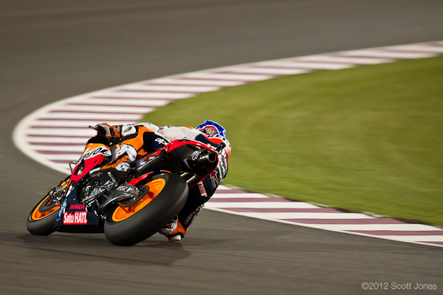 Casey Stoner Explains How to Slide a MotoGP Bike MotoGP Qatar GP Sunday Scott Jones 111