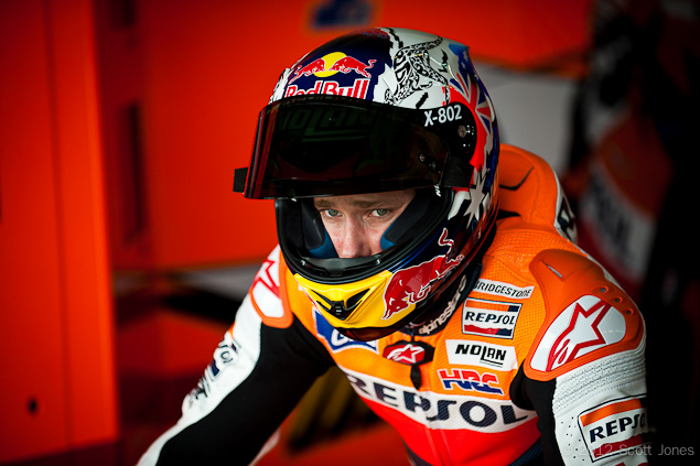 Thursday Summary at Le Mans: On Stoners Retirement Casey Stoner MotoGP Repsol Honda Scott Jones