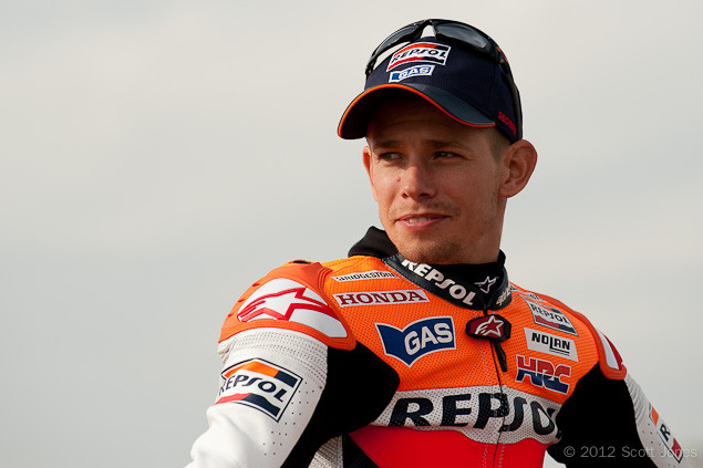 MotoGP: Casey Stoner Explains His Decision To Retire Casey Stoner Repsol Honda HRC MotoGP Scott Jones