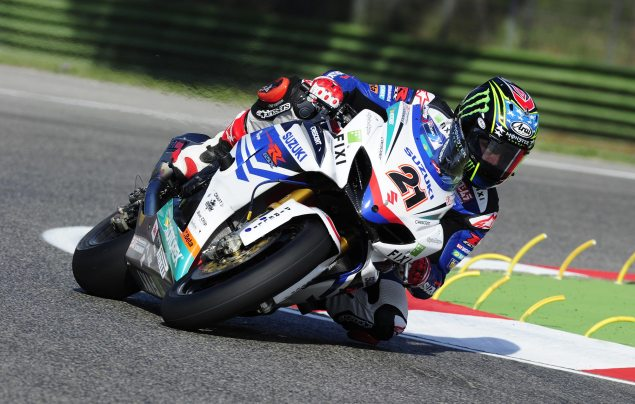 WSBK: John Hopkins Will Return at Miller Motorsports Park John Hopkins Fixi Crescent Suzuki 635x404