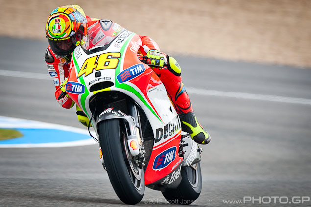 Trackside Tuesday: How Soon We Forget Valentino Rossi Ducati Corse Jerez Scott Jones